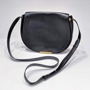 Cuyana Leather Saddle Bag Crossbody Equestrian XL